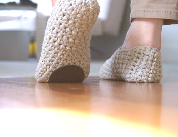 Non Slip sole for WhiteNoiseMaker slippers